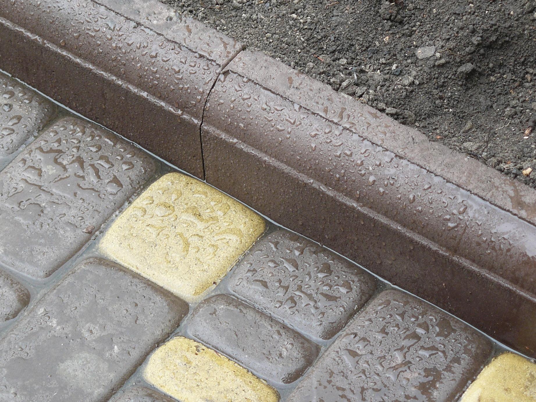 Форма тротуарный бордюр своими руками
