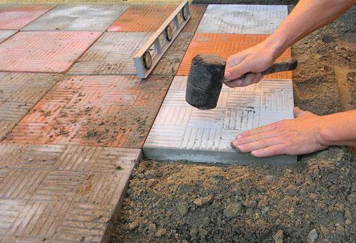 Тротуарная плитка своими руками на продажу